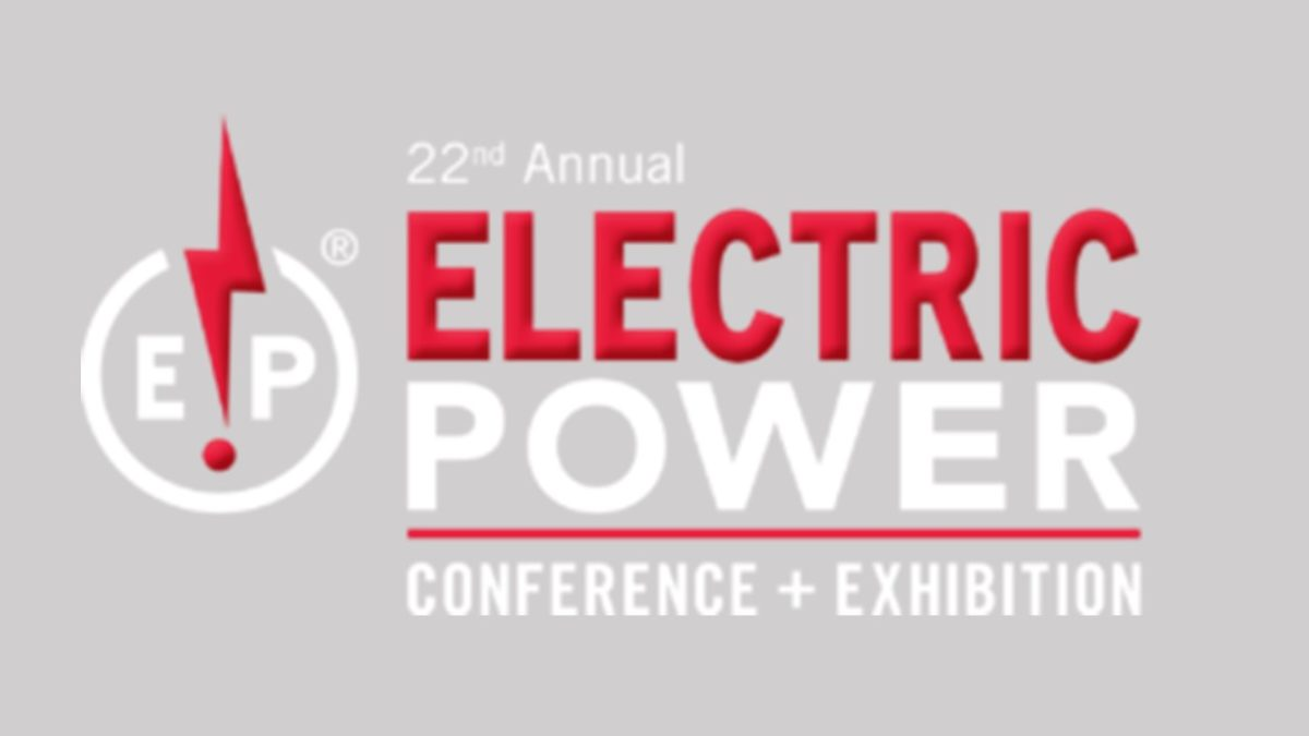 Visit us at the Electric Power Expo